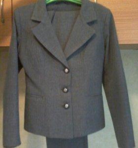 Костюм ( пиджак, брюки,юбка, жилетка)