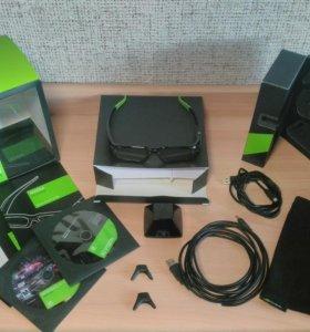 Nvidia 3d vision glasses kit