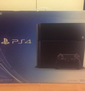 PlayStation 4, 500gb.