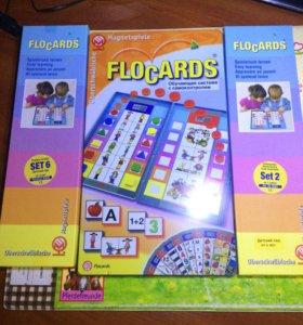 Игровое поле флокардс и 2 набора