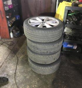 Диски и шины для миникупера r17