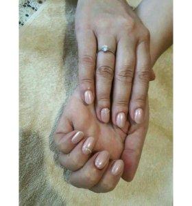 Гель-лак, наращивание ногтей