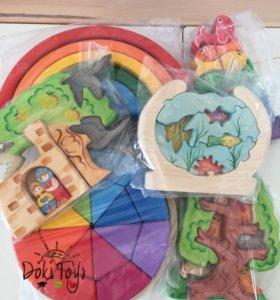 Полезные деревянные игрушки