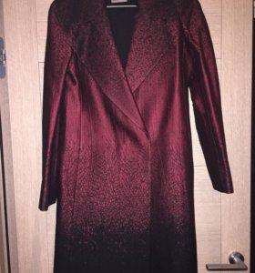 Шерстяное пальто DianevonFurstenberg