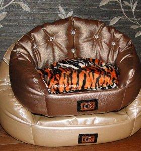 лежанки, диваны, кроватки для собак и кошек c2-1