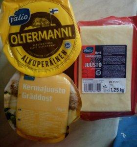 Сыр из Финляндии Oltermanni Valio Rainbow