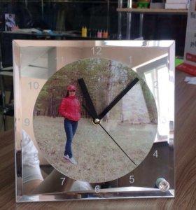 Изготавливаем часы с ваши фото