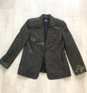 Новый вечерний жаккардовый фирменный пиджак