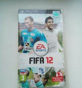 Игра на PSP (FIFA12