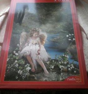 Пазл ангелочек