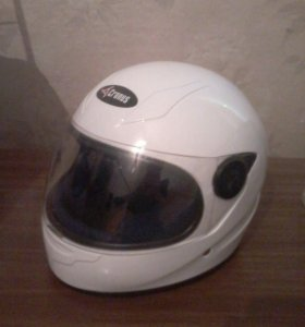 Подрастковый мото шлем