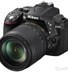 Зеркальный фотоаппарат Nikon D5300 Kit 18-105 VR