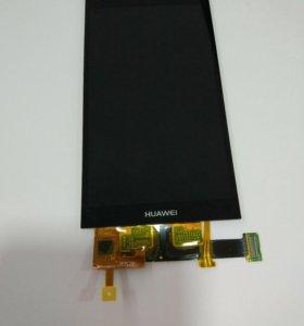 Дисплей Huawei Ascend P6+тачскрин черный