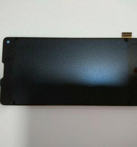 Дисплей ZTE NX403A(Nubia Z5S mini)+тачскрин черный