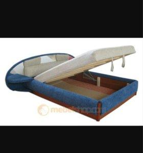 Кровать тахта 2-х спальная