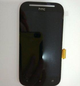 Дисплей HTC Desire SV+тачскрин черный