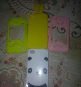 Чехлы для 4 го айфона