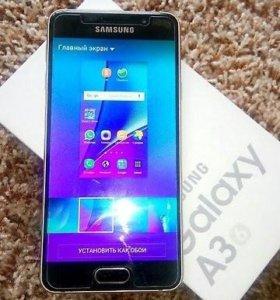 Samsung galaxy a3 2016. Идеальное состояние