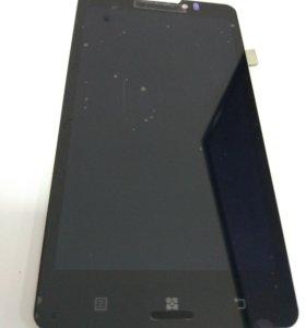 Дисплей Lenovo P780+тачскрин черный