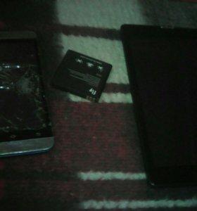 Телефон VERTEX и планшет IRBIS