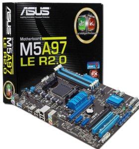ASUS m5a97 le r 2.0  Сокет AM3+