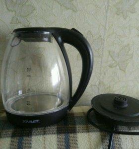 Чайник электрический с подсветкой