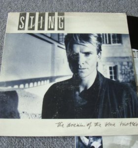 "Sting""The Dream of the Blue Turtles"" UK EX+/NM"