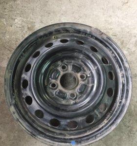 Комплект(4 штуки) дисков стальных колесных R14