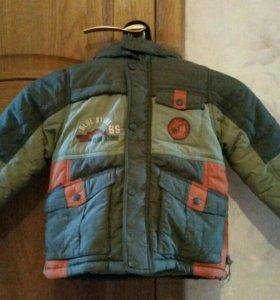 Комплект куртка и полукомбинзон от фирмы Kika