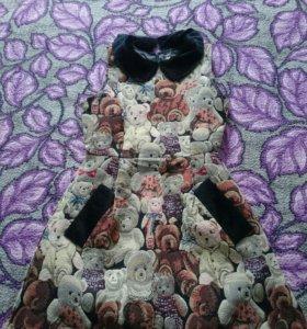 Платье с мишками
