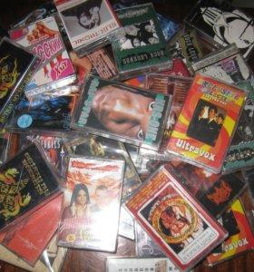 Аудио, видео кассеты с записью