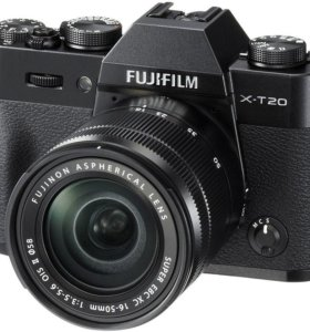 FujiFilm X-T20 XC16-50mm Black