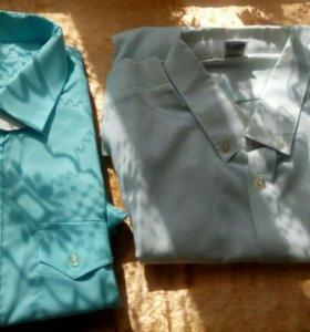Рубашки мужские новые.