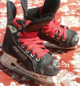Коньки хоккейные детские 4-6 лет