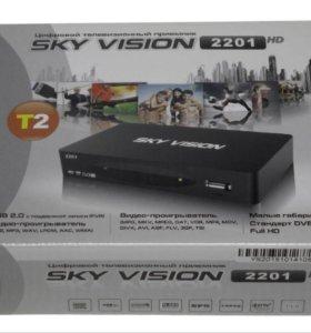 Тв ресивер, приставка для цифрового ТВ, DVB-T2