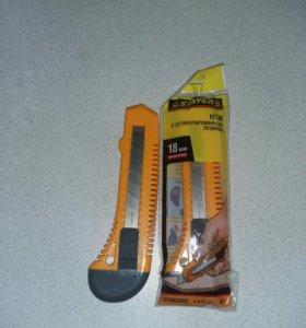 Нож концелярский Stayer