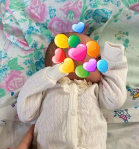 Кофточка на новорожденную девочку