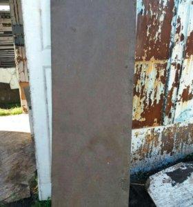 Продам лист металлический 8х60х1900мм