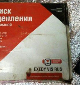Ваз 2115 диск сцепления в сбори
