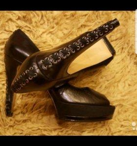 Туфли из натуральной кожи Nine West
