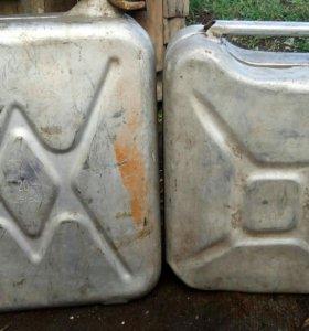 Алюминевые канистры 20л и10л