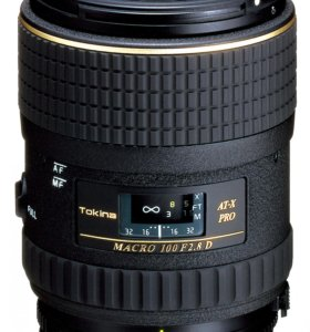 Tokina AT-X D 100mm f/2.8 Macro для Canon