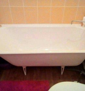 Ванна чугунная