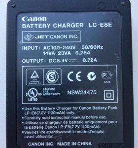 Зарядное устройство LC-E8E от фотоаппарата
