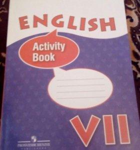 Тетрадь по английскому 7 класс