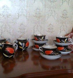 Чайный сервиз Тюльпаны