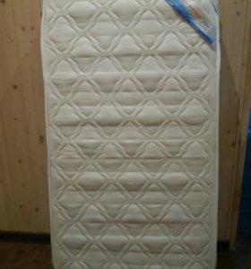 Матрас 60×120 + наматрасник+ одеяло