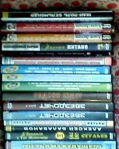 Коллекция видео и аудио дисков