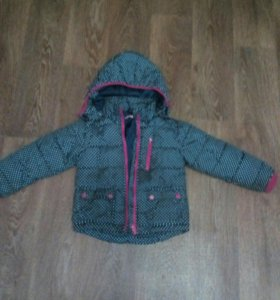 Куртка для девочки 110-116