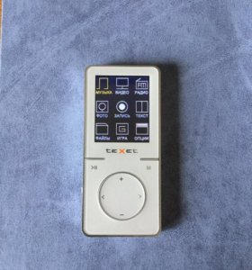 MP3 player teXet t-47 8gb